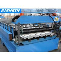 Quality 24 Stations Steel Decking Roll Forming Machine PLC Frequency Controller for sale