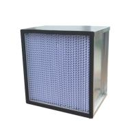 Wholesale Deep Pleated High Efficiency Air Filter For Hospital , High Capacity from china suppliers