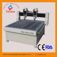 Wholesale Double heads  CNC Engraving machine in Advertising field TYE-1212-2 from china suppliers