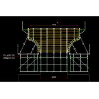 Buy cheap Interchange pier cap formwork , bridge abutment construction system from wholesalers