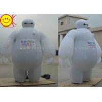 Wholesale Baymax Mobile Inflatable Advertising Costumes Easily Folds Away For Compact Storage from china suppliers