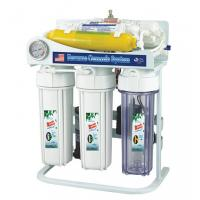 Buy cheap Iron Frame 6 Stage Water Filtration System , Drinking Water Ro System With Pressure Gauge from wholesalers