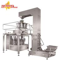 Wholesale Rotary Granule Doypack Stand Pouch Dry Pet Food Packing Machine With Zipper from china suppliers