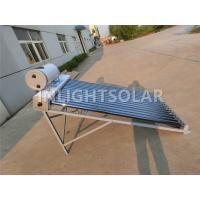 Quality High Efficiency Vacuum Tube Solar Water Heater With Copper Coil , No Special Care for sale
