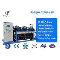 Wholesale R404a Hanbell parallel screw compressor racks for frozen food storage from china suppliers