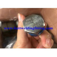 "Quality Carbon Steel Forged Steel Pipe Fittings Hex Head Plug 2"" #3000 NPT A105 NPT Galvanized for sale"