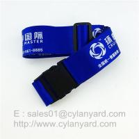 Wholesale Polyester Luggage Belt straps, Suitcase Belt With Plastic Buckle And Adjustable Clips from china suppliers