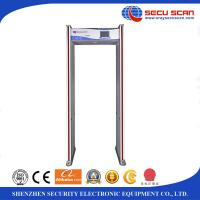 Wholesale LCD Screen Walk Thru Multi Zone Door Frame Metal Detector Archway OEM Accept from china suppliers