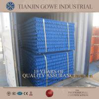 Quality Painted Steel Cuplock Scaffolding System standard and ledger For construction project for sale