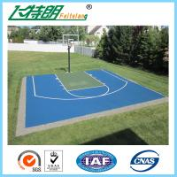 Pu 4mm sport court surface safety polyurethane floor paint for Sport court paint