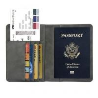 Multifunction RFID Travel Passport Holder
