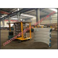 Wholesale Metal Trapezoidal Profile Bull-nosing IBR Roof Sheeting Crimping Machine from china suppliers