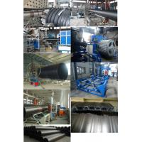 Wholesale Hollow Wall Winding HDPE Pipe Extrusion Machine Large Diameter 300 - 1200mm from china suppliers
