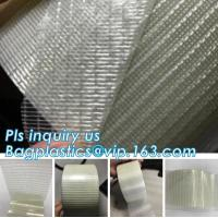 Wholesale Glass Mesh carpet tape,PET film glass fiber mesh tape,Fiberglass mesh tape for gypsum,160Mic Backing Fiberglass Double S from china suppliers