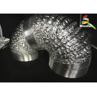 Quality Grow Tent Aluminum Foil Ducting Polyester Sizes Customized Flexible Ducting for sale
