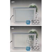 Buy cheap switchable glass panel smart electric privacy glass 4mm+4mm 5mm+5mm 6mm+6mm from wholesalers