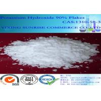 Wholesale KOH Lithium Battery Chemistry White Potassium Hydroxide Flakes CAS 1310-58-3 from china suppliers
