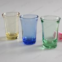 Wholesale high quality solid color glass shot glass for wholesale from china suppliers