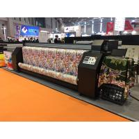 Buy cheap CMYK Four Colour Epson Head Digital Fabric Printing Machine from wholesalers