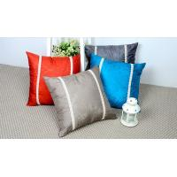 Wholesale Home Decor Couch Silk Throw Pillows / Decorative Cushions For Sofa , Square from china suppliers