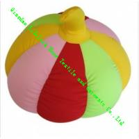 Wholesale Lovely Soft Toy Pillow With Foam Particles , Kids Pumpkin Plush Cushion from china suppliers