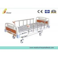 Quality Detachable Medical Hospital Beds , Three Cranks Manual Bed ALS-M301 for sale