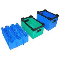 Quality Polypropylene Corrugated Cartons / Corflute Box / Coroplast Box for sale