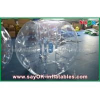 Wholesale 0.8mm PVC Adult Inflatable Human Bubble Zorb Soccer Ball For Sports Games from china suppliers