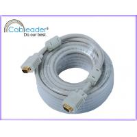 Wholesale 50 meters 15P, M-M, with 2pcs* ferrites gold or nickel plated connector VGA Monitor Cables from china suppliers