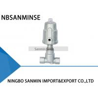 Buy cheap JDF800 Pneumatic Angle Seat Valve , Right Stainless Steel Angle Valve from wholesalers