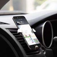 Quality Clamp Triangular Smartphone Mobile Phone Holder Car Air Vent Mount Easy To Install for sale
