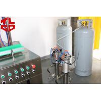 Wholesale Automatic Aerosol Spray Filling Machine For Wedding Snow Sprays from china suppliers
