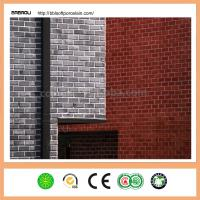 Wholesale 240*60mm  Eco-Friendly  Modified Clay Material Fake Brick Wall Covering Interior from china suppliers