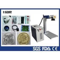 Wholesale 20w Desktop Design Fiber Laser Marking Machine for Metal with CE FDA from china suppliers