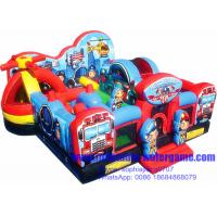 Wholesale Beautiful Digital Printings Inflatable Amusement Park SGS EN14960 Certification from china suppliers