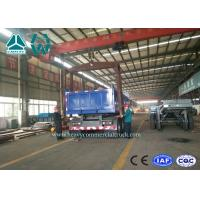 Wholesale 3 Axles Cylinder End Tipper Semi Trailer / Side Dump Semi Trailer With 35T Payload from china suppliers