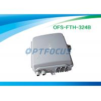 Wholesale Mini Optical Fiber Termination Box 0.2dB Two 1x8 plug 62kpa - 106 kpa Atmospheric Pressure from china suppliers