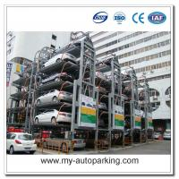 Wholesale 8 10 12 14 Sedans Vertical Rotary Car Stacker Parking Garage Equipment from china suppliers