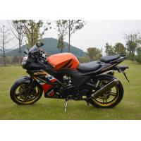 Wholesale Single Cylinder 4 Stroke Street Racing Motorcycles , High Speed Racing Motorcycle from china suppliers