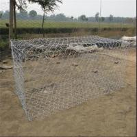 Wholesale Hot dipped galvanized gabion box / hexagonal wire gabion box from china suppliers