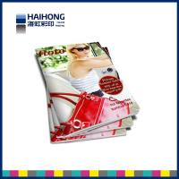 Wholesale Full color magazine printing service two staples stitch bound / saddle stitch bound from china suppliers