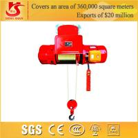 Single and double speed electric push button electric hoist
