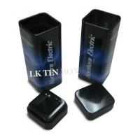 Chewinggum Small Tin Box Packaging Metal Square Tube Box 30 X 30 X 82 mm