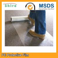 Wholesale Durable Carpet Shield Self Adhesive Film , Plastic Protective Carpet Film PE Material from china suppliers