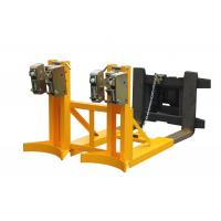 Wholesale 720Kg automatic electrical Stable Forklift Drum Lifter with Two Drums from china suppliers