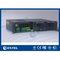 Wholesale Outdoor 19 Rack Enclosure Rectifier System , Base Station Telecom Power System from china suppliers