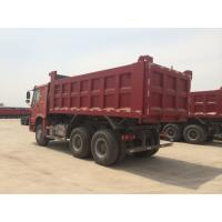 Wholesale Red Color 336hp Sinotruk Howo Dump Truck With 10 Wheels And 18m3 Capacity from china suppliers