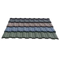 Quality Galvalume sheet /estate roofing tile, red black color metal roof tile for sale