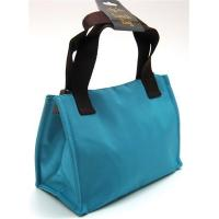 Wholesale INSULATED LUNCH BAG ~ LUNCH TOTE TURQUOISE & BROWN ~ MEDIUM TOTE ~ NEW from china suppliers