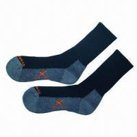 Wholesale Sport/trekking socks for men, sneaker with terry from china suppliers